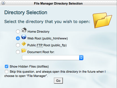 directory-selection